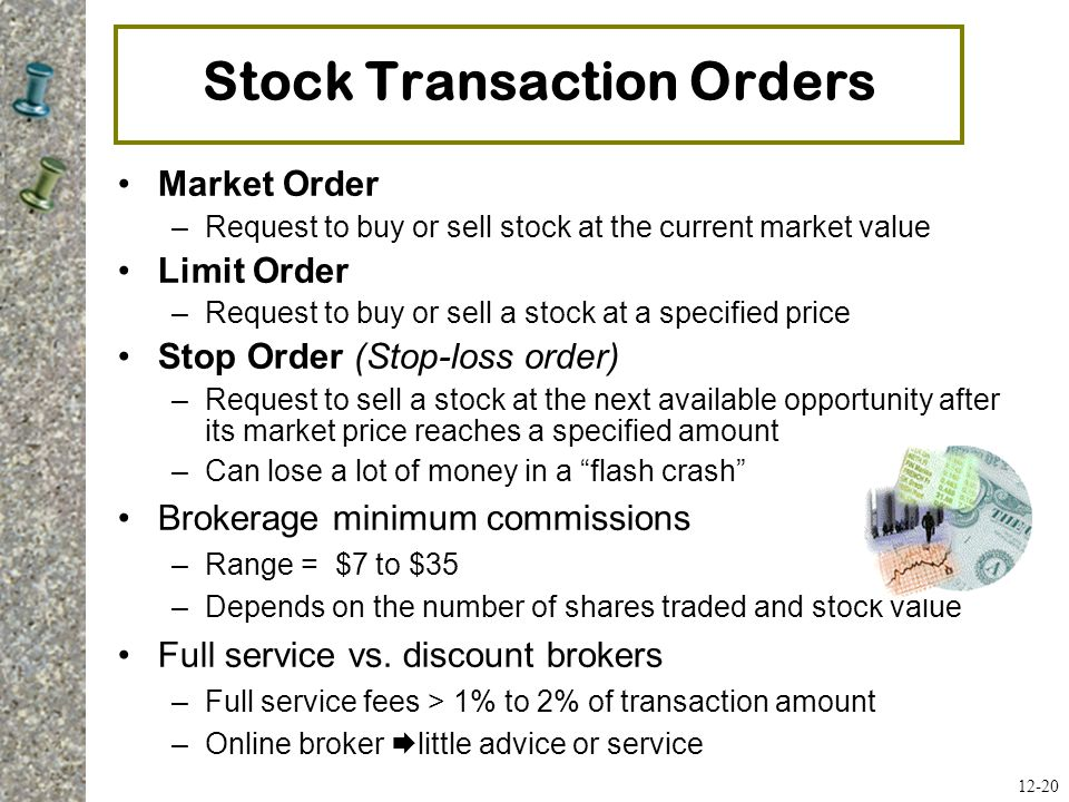 Stock Transaction Orders