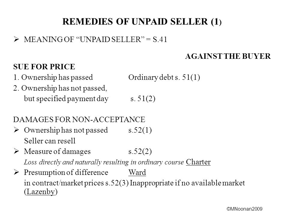 REMEDIES OF UNPAID SELLER (1)