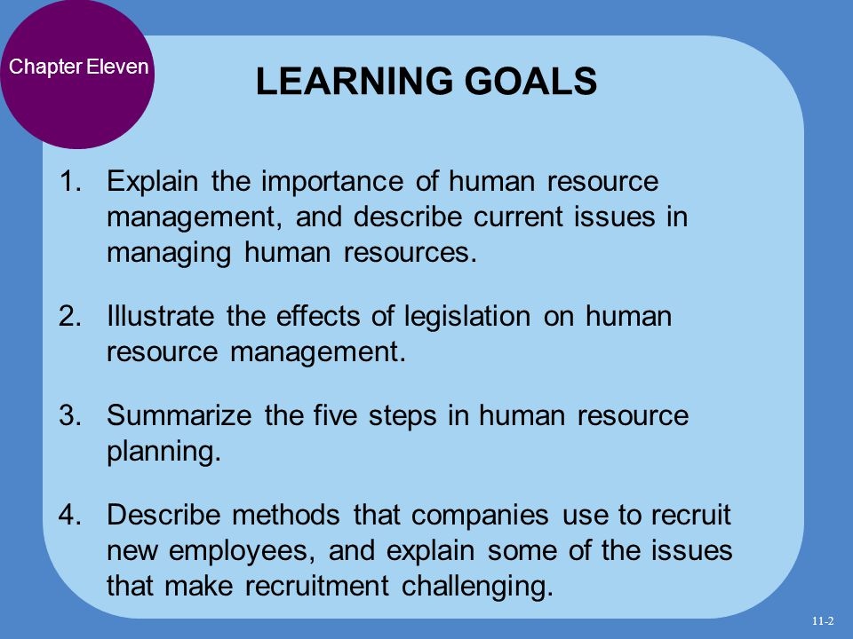 human resource management finding and keeping the best employees explain the importance of human resource management and describe current