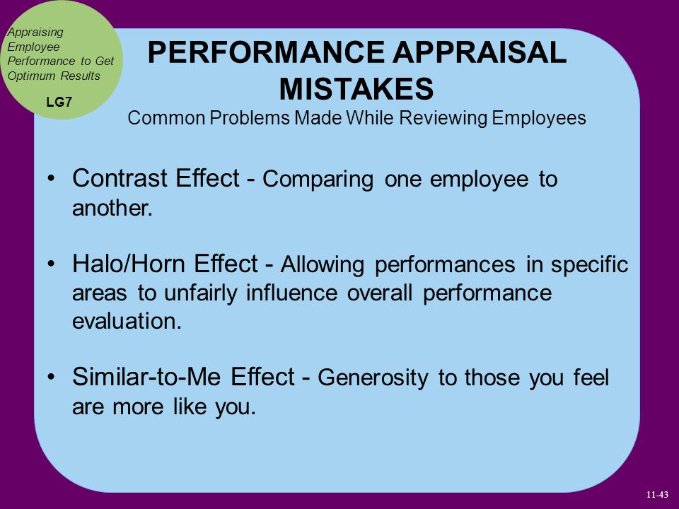Appraising Employee Performance to Get Optimum Results