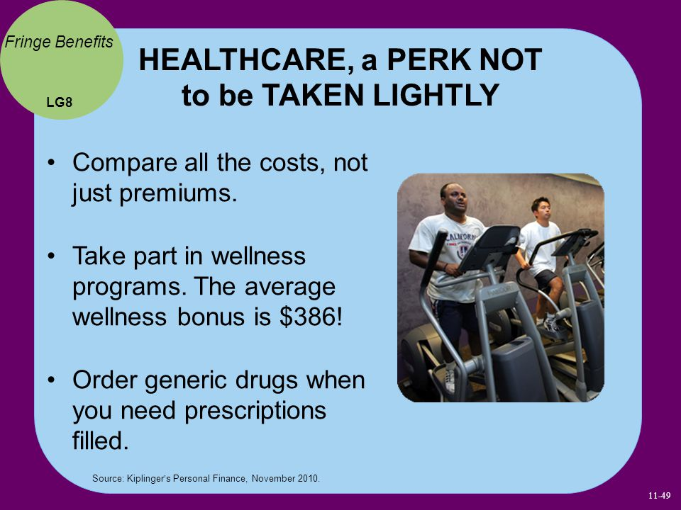 HEALTHCARE, a PERK NOT to be TAKEN LIGHTLY