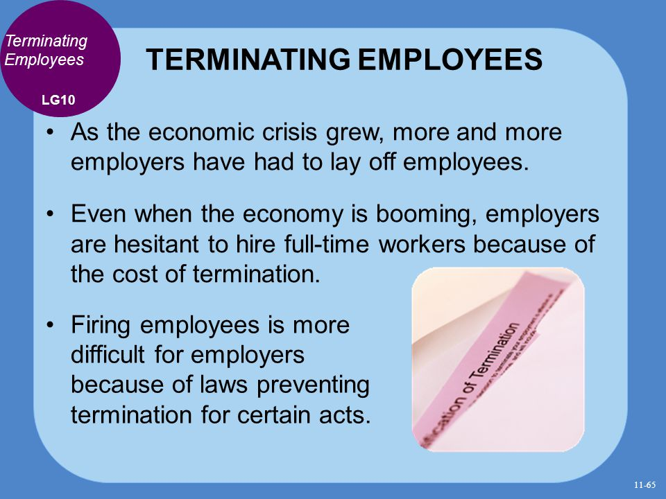 TERMINATING EMPLOYEES