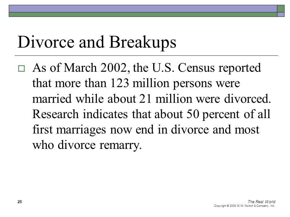 Divorce and Breakups