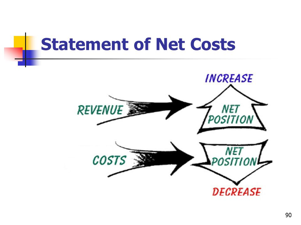 Statement of Net Costs
