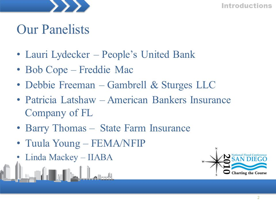 Our Panelists Lauri Lydecker – People's United Bank
