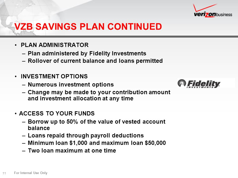 VZB SAVINGS PLAN CONTINUED