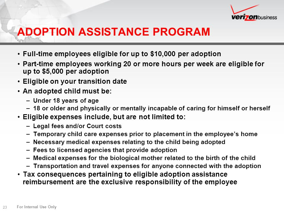 ADOPTION ASSISTANCE PROGRAM