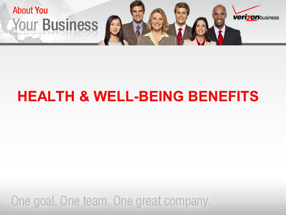 HEALTH & WELL-BEING BENEFITS