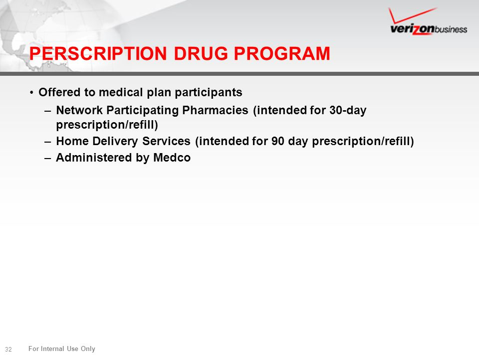 PERSCRIPTION DRUG PROGRAM