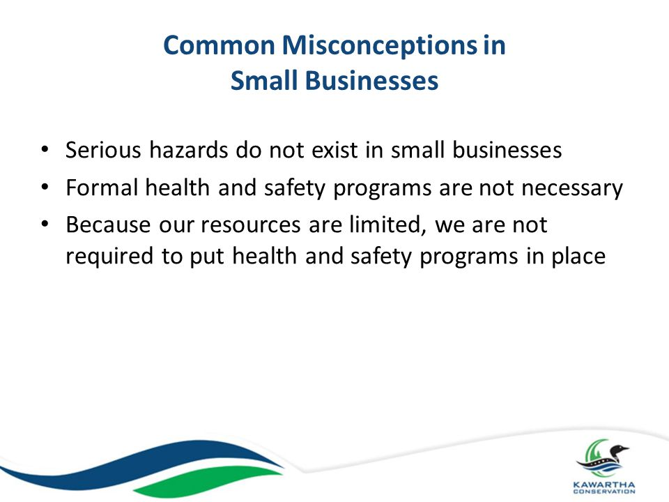Common Misconceptions in Small Businesses