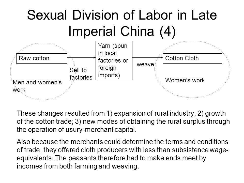 Sexual Division of Labor in Late Imperial China (4)