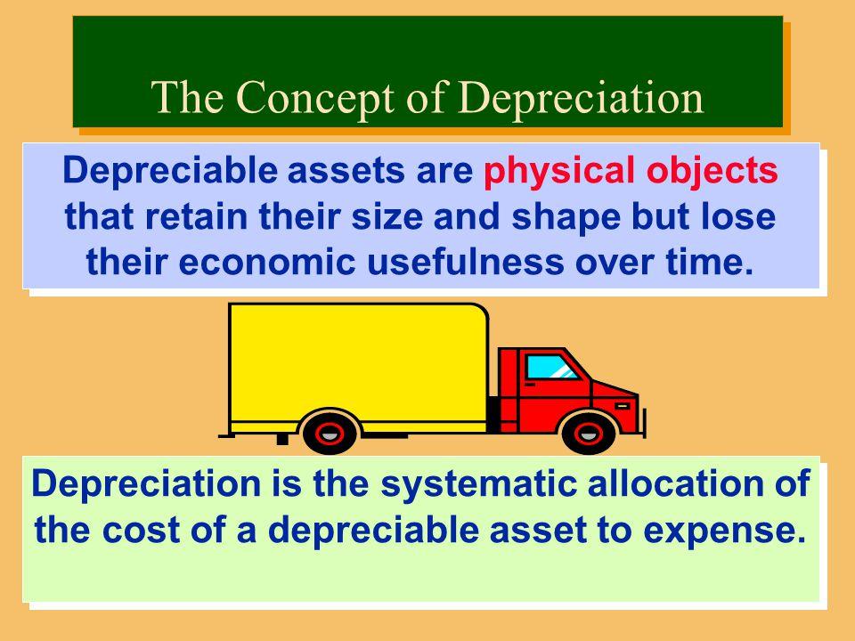 The Concept of Depreciation