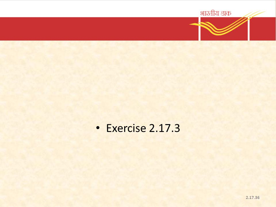 Exercise 2.17.3