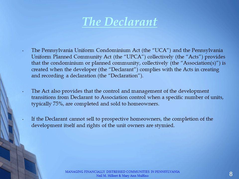 The Declarant