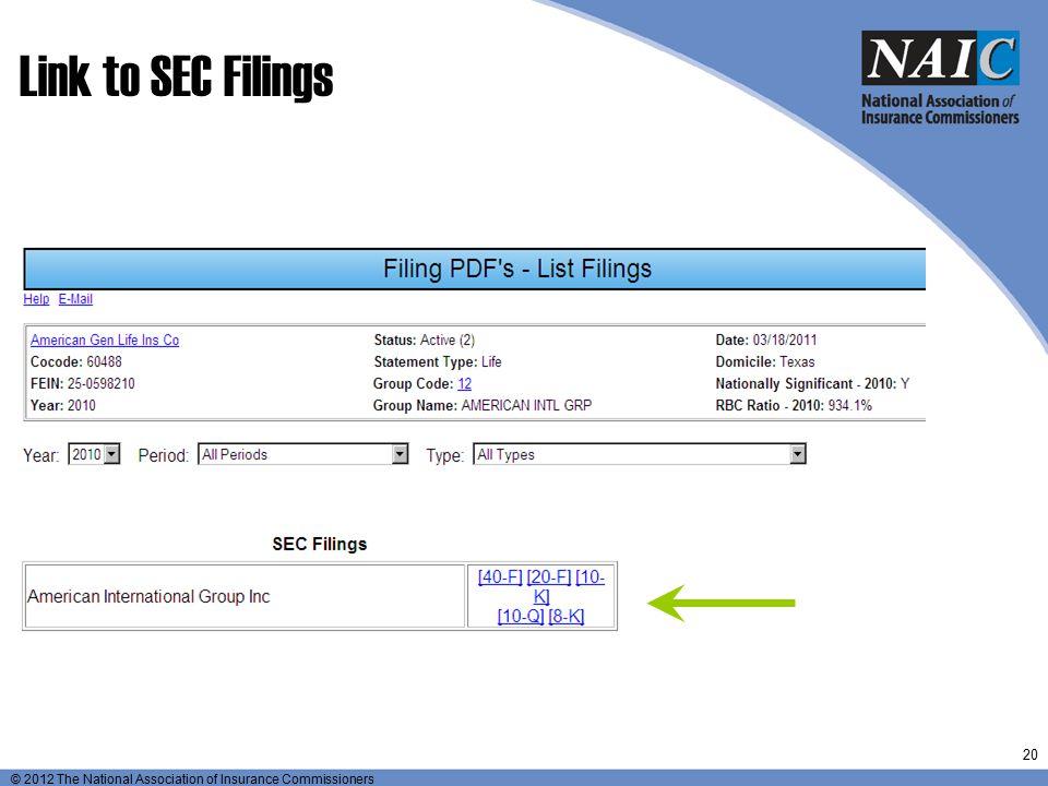 Link to SEC Filings