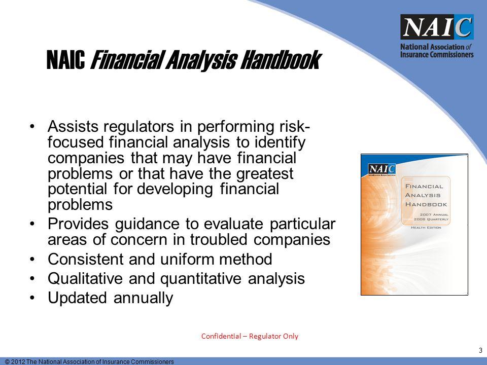 NAIC Financial Analysis Handbook