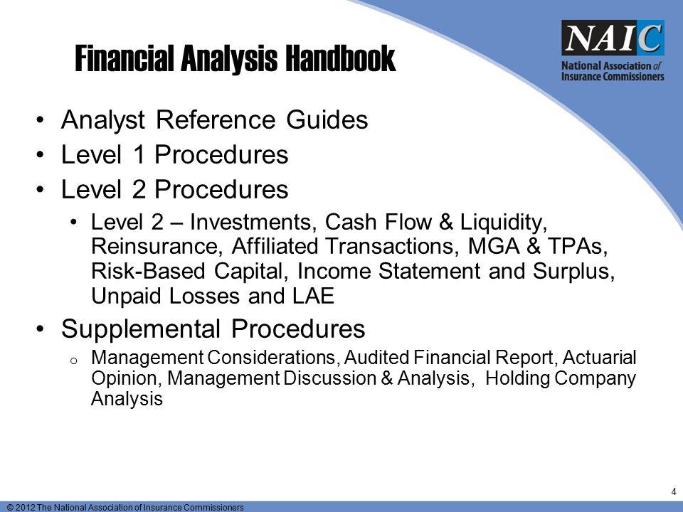 Financial Analysis Handbook