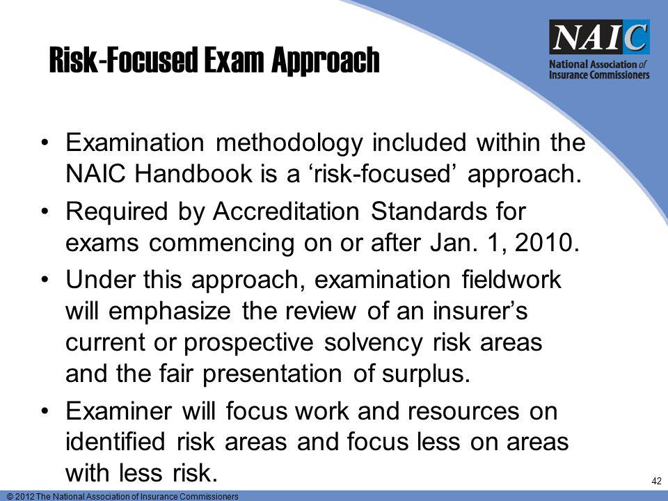 Risk-Focused Exam Approach