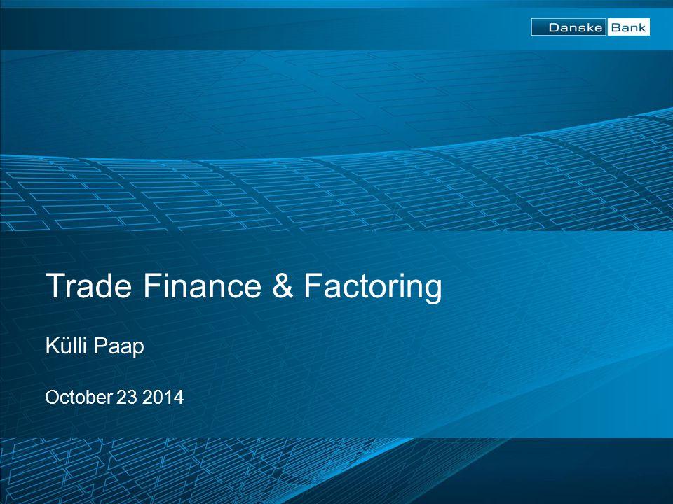 Trade Finance & Factoring