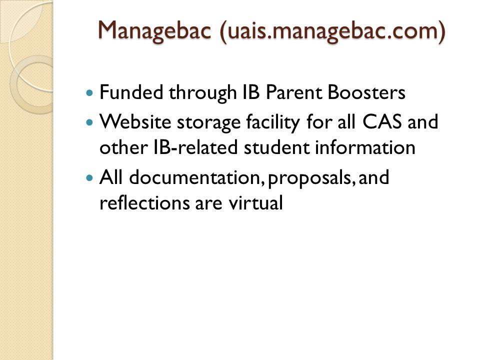 Managebac (uais.managebac.com)