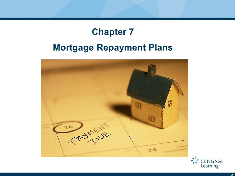 Chapter 7 Mortgage Repayment Plans