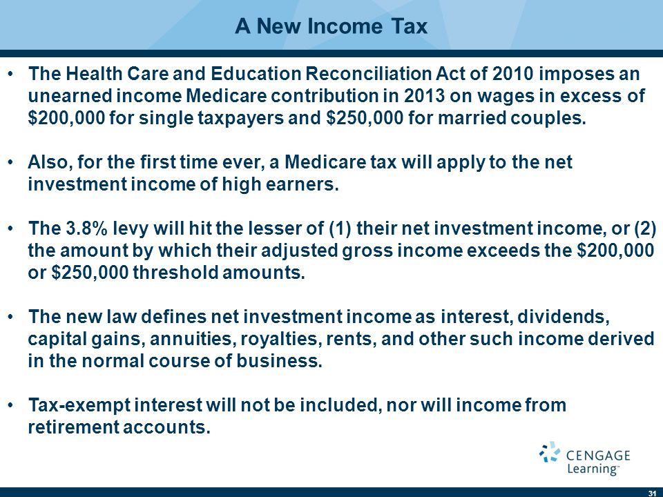 A New Income Tax