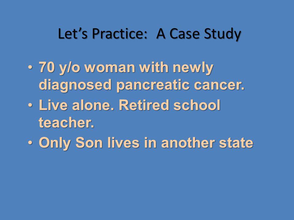 Let's Practice: A Case Study