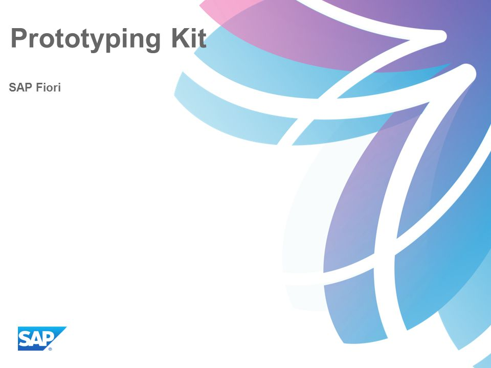 prototyping kit sap fiori. - ppt video online download, Presentation templates