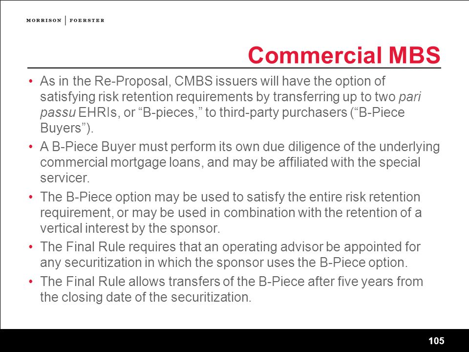 Commercial MBS