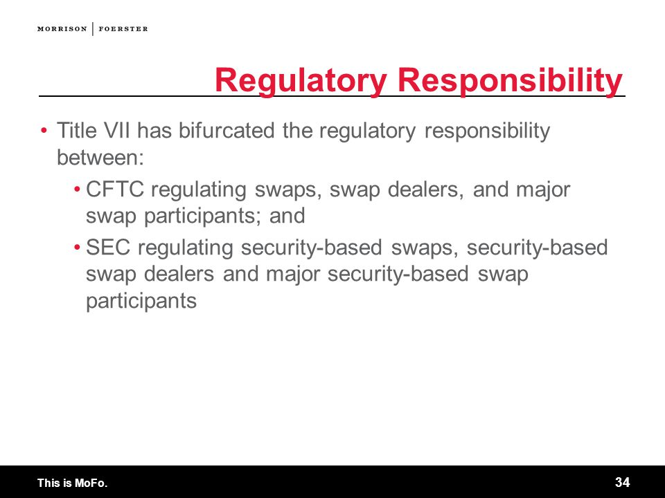 Regulatory Responsibility