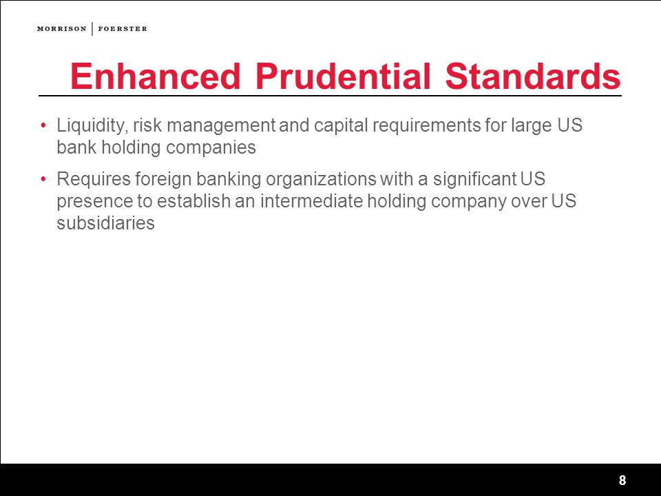 Enhanced Prudential Standards