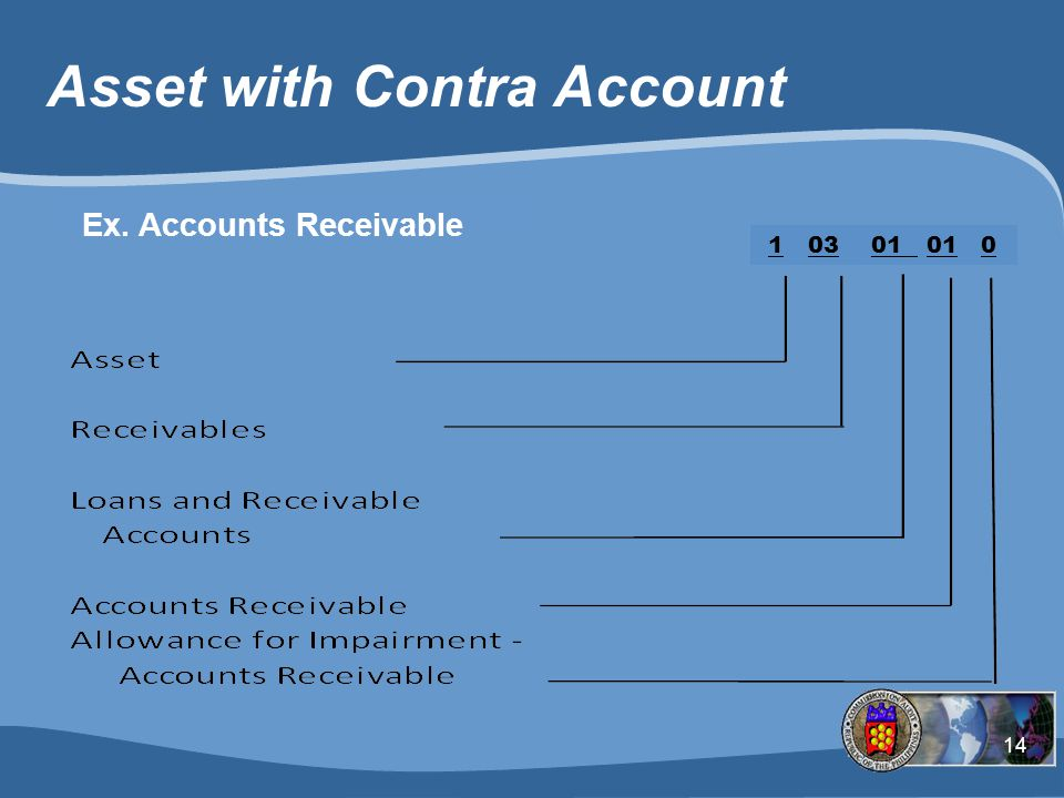Asset with Contra Account