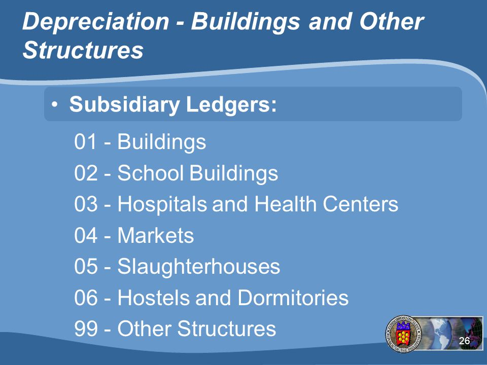 Depreciation - Buildings and Other Structures
