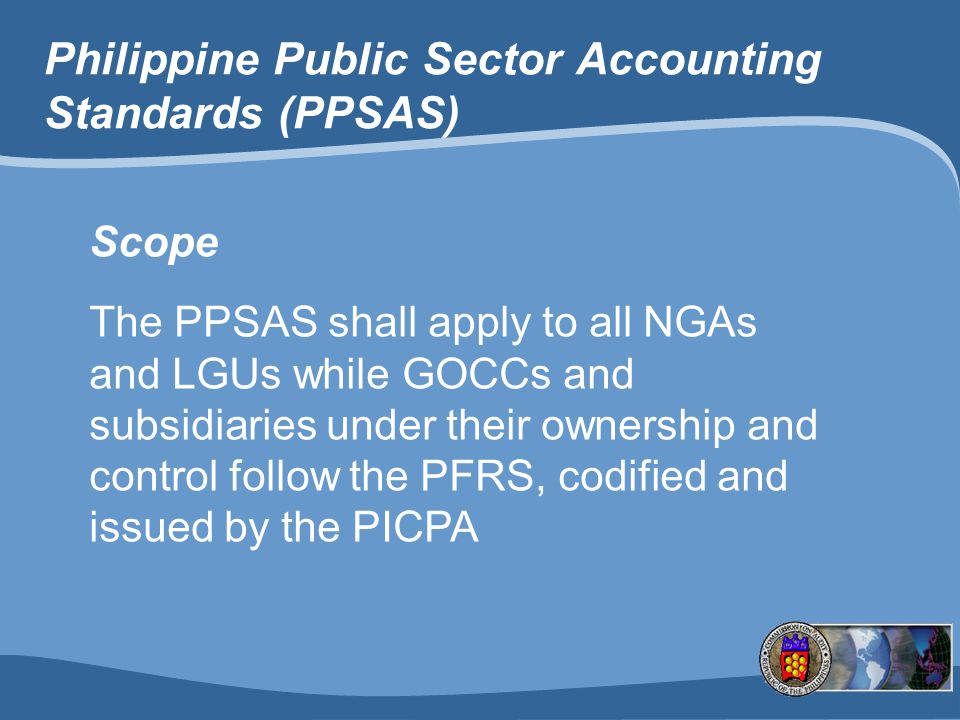 Philippine Public Sector Accounting Standards (PPSAS)