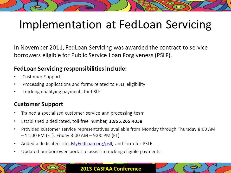 Public Service Loan Forgiveness - Ppt Download