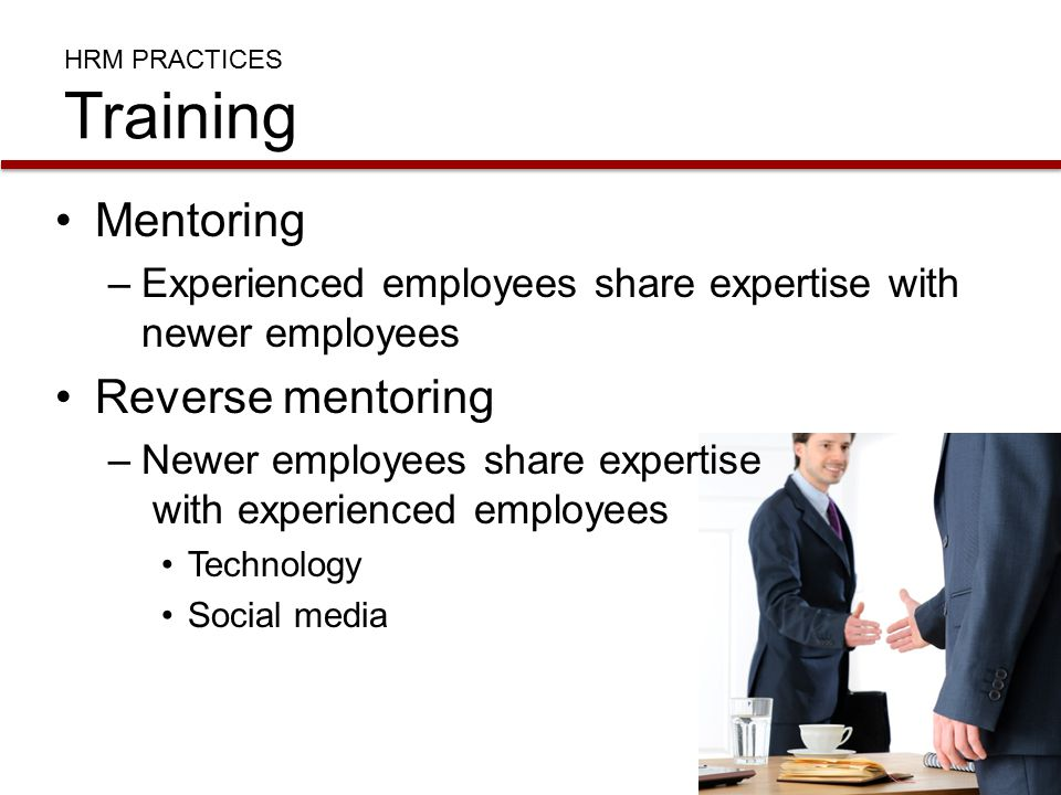 HRM PRACTICES Training