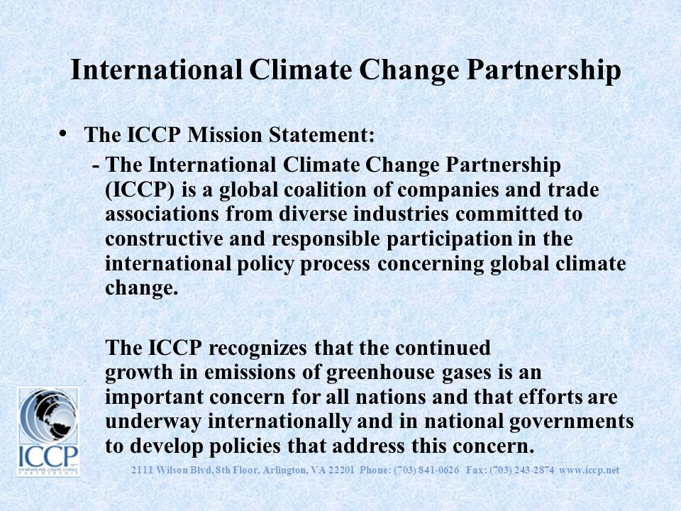 International Climate Change Partnership