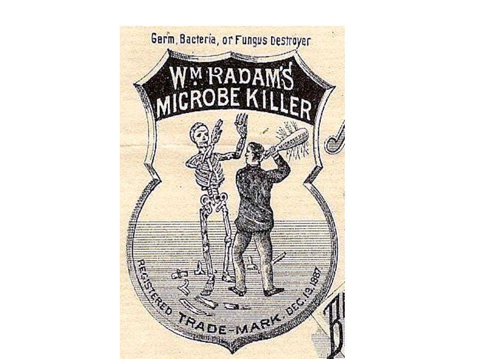 Radam s Microbe Killer label, 1887