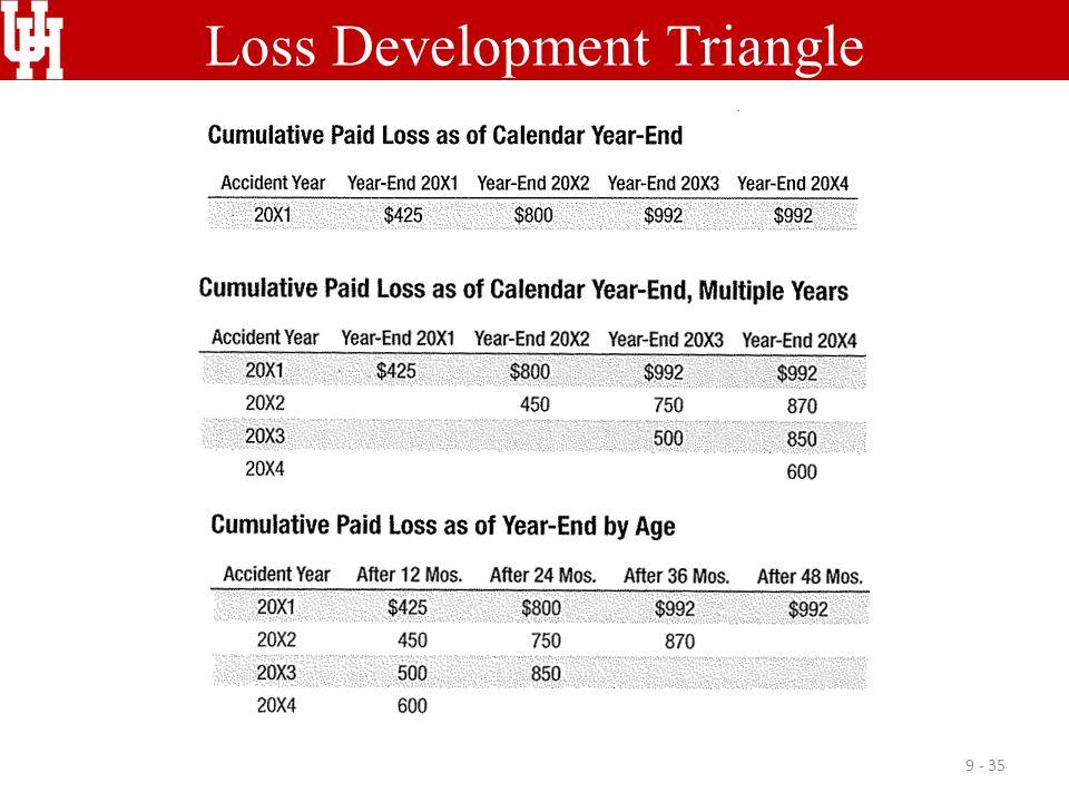 Loss Development Triangle
