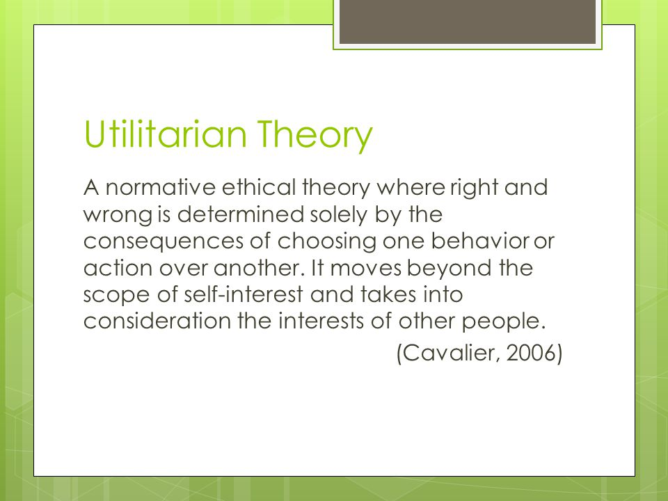 """normative ethical theory Students basic knowledge of the main figures and positions in the history of ethical theory 6  theory ( nb """"moral"""" and """"ethical  -- normative ethics is."""