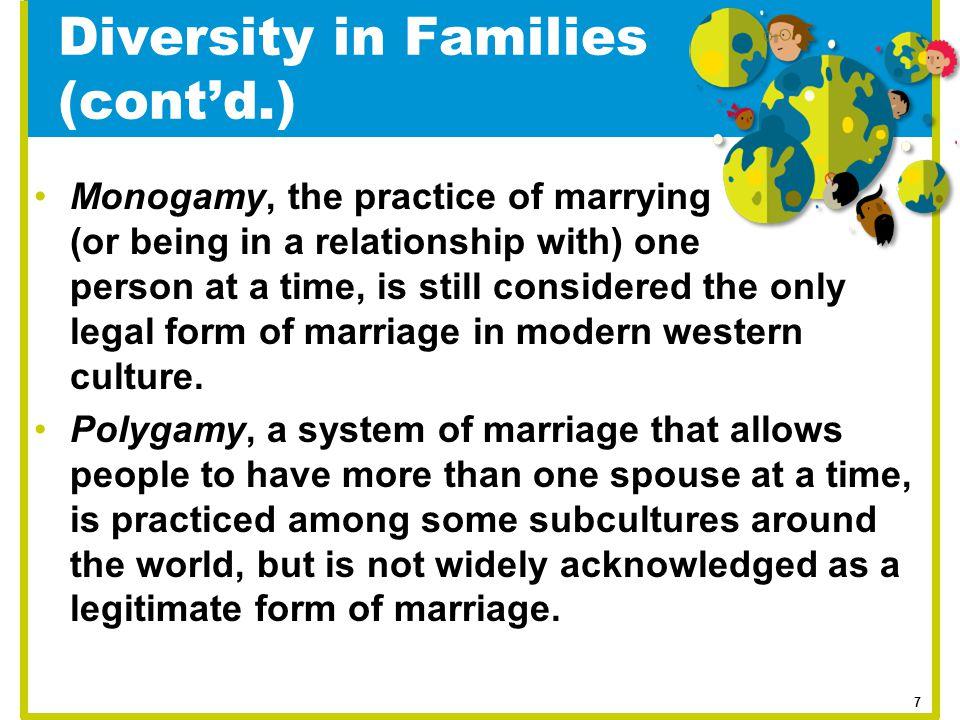 Diversity in Families (cont'd.)