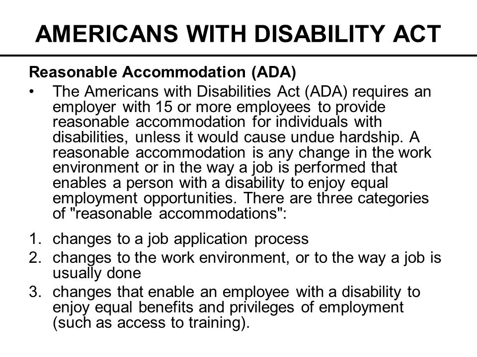 americans with disabilities act research paper Read this business research paper and over 88,000 other research documents the impact of the americans with disabilities act (ada) - title i - on small businesses.