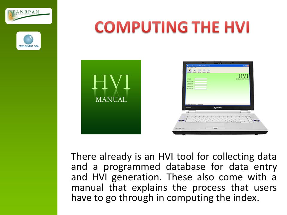 COMPUTING THE HVI