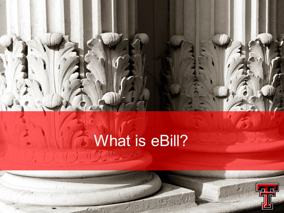 What is eBill