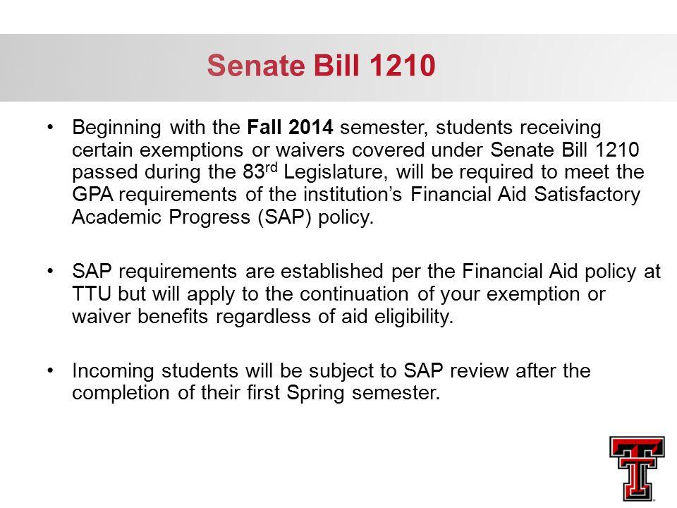 Senate Bill 1210