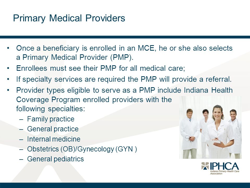 Primary Medical Providers