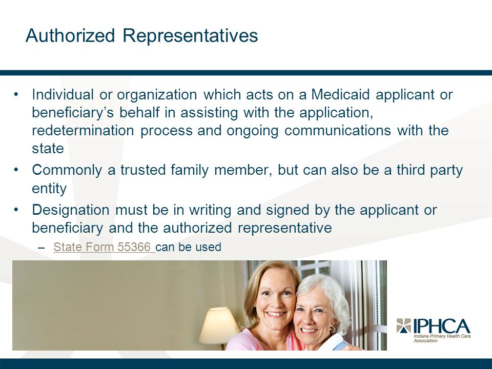 Authorized Representatives