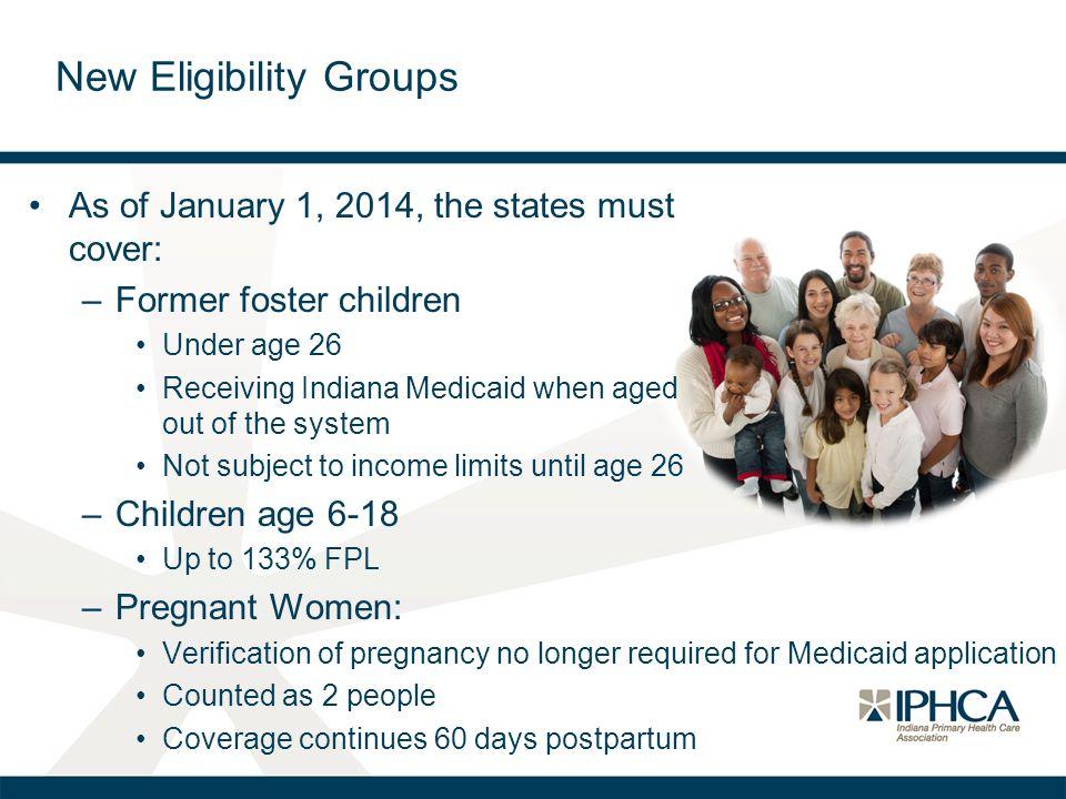 New Eligibility Groups