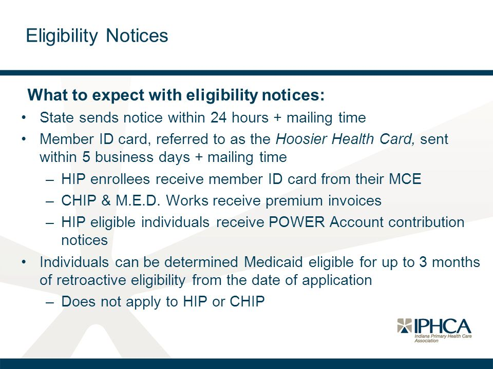 Eligibility Notices What to expect with eligibility notices: