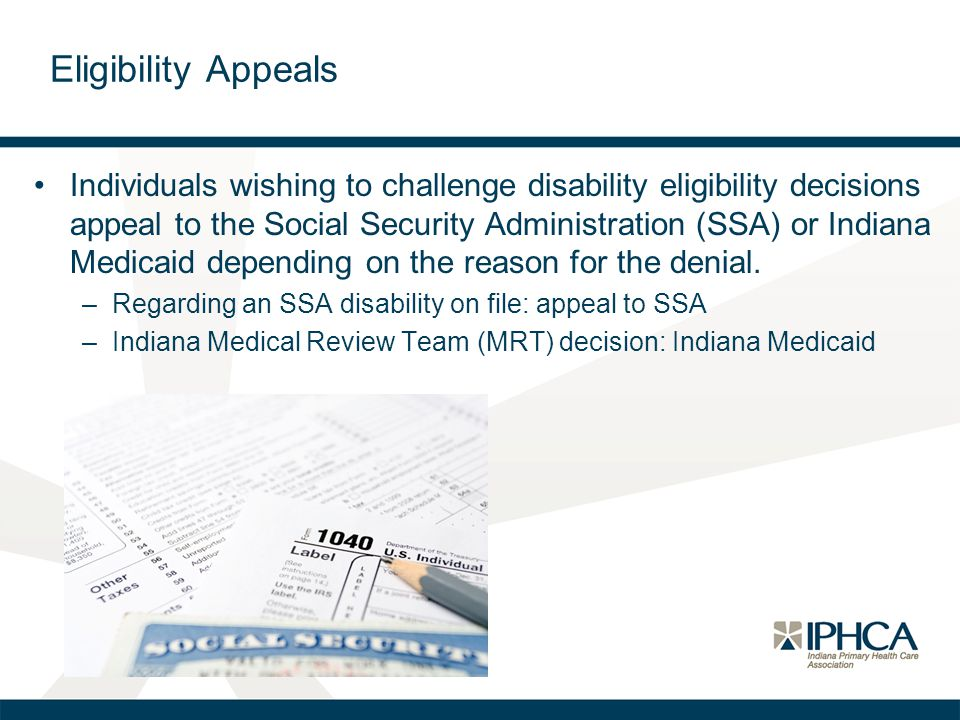 Eligibility Appeals